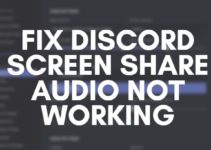 Discord Screen Share Audio